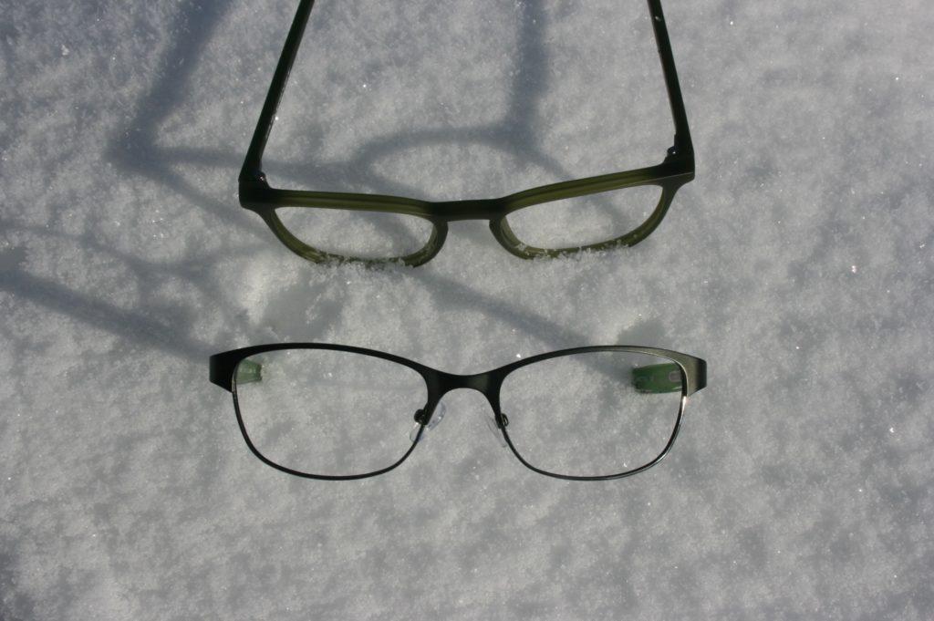 Green eyeglass frames Hillsboro OR